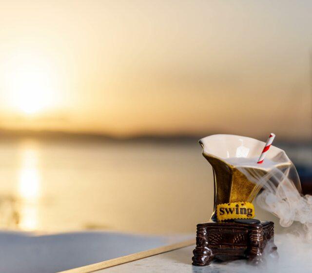 OPENING SATURDAY 12/6 !   #naxos #naxosisland #naxos_island #ig_naxos #naxosgreece #greekislands #cocktails #cocktailbar #naxosgreece #greekgastronomy #gastronomia #visitgreece #sunsets #sunset #drinks #swingbarnaxos #cyclades #cocktailporn   #greece  #summer #travel #islands #island #summeringreece #aegean  #travelgreece